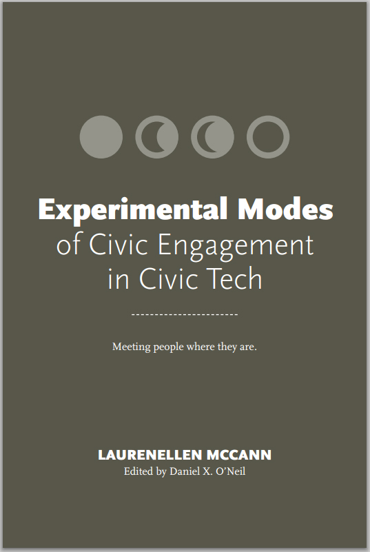 Experimental Modes of Civic Engagement in Civic Tech cover image