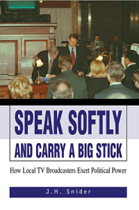 Speak Softly and Carry A Big Stick cover image